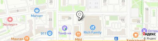 Время окон на карте Казани