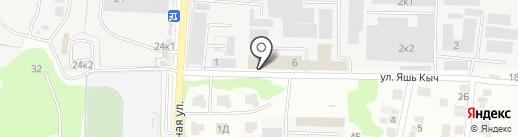 Компания по производству брусчатки на карте Казани