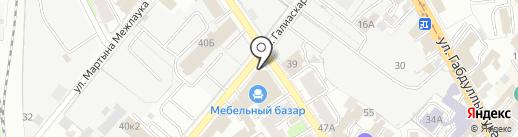 Абажур на карте Казани