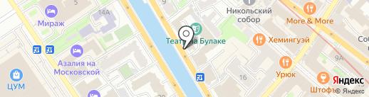 ТРЭВЕЛ КОМПАНИ на карте Казани