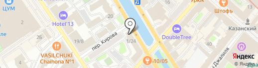 ВЫМПЕЛЬНАЯ ДОСТАВКА на карте Казани