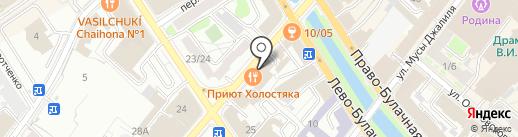 CTRL+P на карте Казани