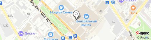 Модерн на карте Казани