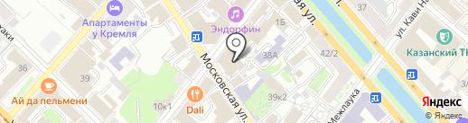 Системы Мониторинга на карте Казани