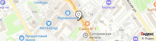 ТРИА на карте Казани