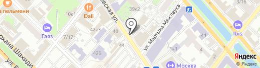 Казанский юридический институт на карте Казани
