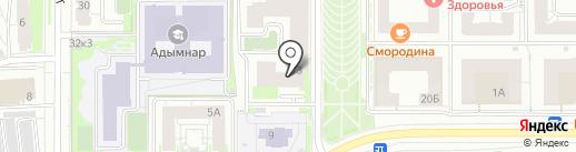 1С:БухОбслуживание. Средне-Волжское экспертное бюро на карте Казани