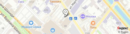 Киоск по продаже фруктов и овощей на карте Казани