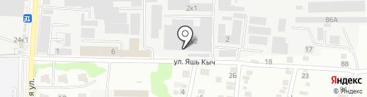 СТАЛЬ СТРОЙ на карте Казани