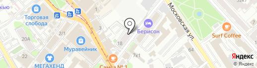Комиссионный магазин на карте Казани