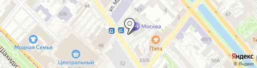 СтандАрт на карте Казани