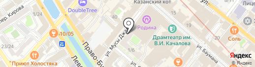 RICH shoes на карте Казани