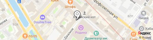 Hookah Rooms на карте Казани