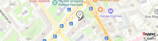 Мастерская по ремонту обуви на карте Казани
