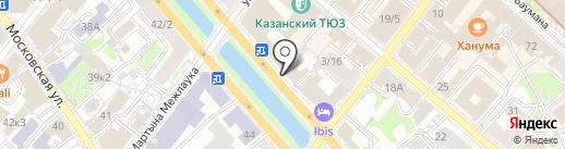 Соцпроф на карте Казани