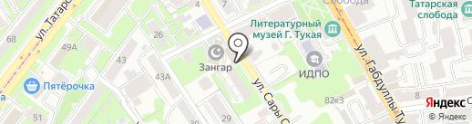 Ключ к здоровью на карте Казани