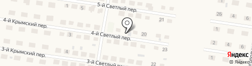 Красная стрела на карте Ягодного
