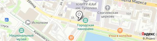 ЧУКЧА на карте Казани