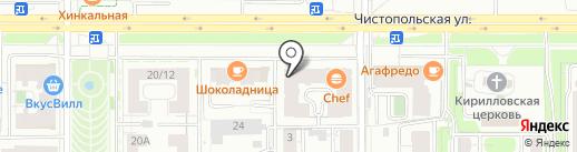 Наточу на карте Казани