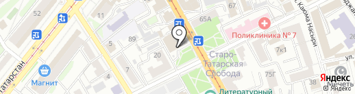 Инфомат самообслуживания на карте Казани