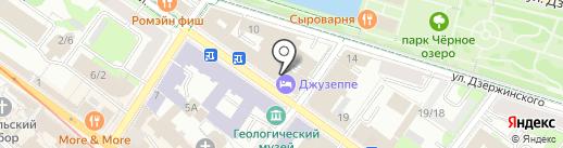 Туристско-информационный центр г. Казани на карте Казани