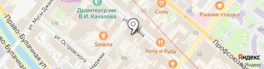 Right Tattoo на карте Казани