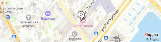 Океаник-Тур на карте Казани