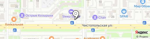 Legion Motors на карте Казани
