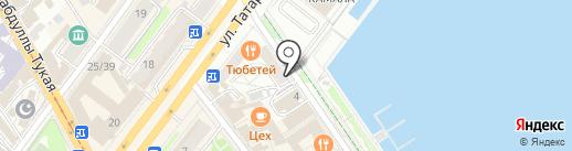 Ной на карте Казани
