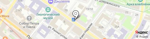 Д.О.М. на карте Казани