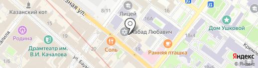Адвокат Столицы на карте Казани