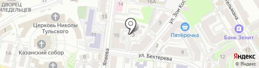 Абилита на карте Казани