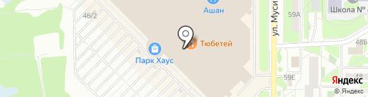 Vans на карте Казани