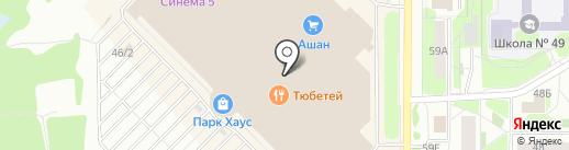 Аметист на карте Казани