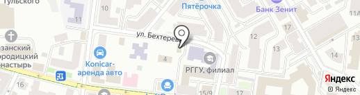 ХОЛЛ на карте Казани