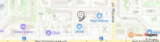 Шан-Жан на карте Казани