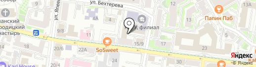 Агентство по ипотечному жилищному кредитованию Республики Татарстан на карте Казани