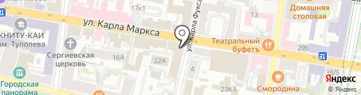 Центр противодействия экстремизму на карте Казани