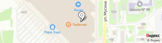 Аквалайф на карте Казани