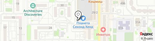 Лидер света на карте Казани