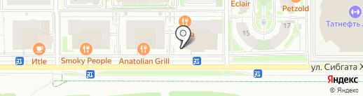 Basilico lounge на карте Казани