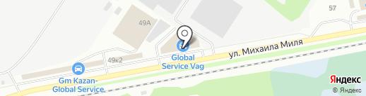 ПРЕСТИЖ на карте Казани