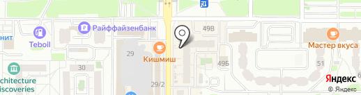 Арт Смайл на карте Казани