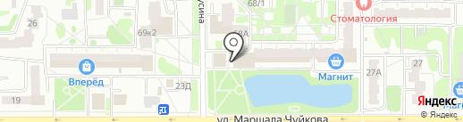 Арыш Мае на карте Казани