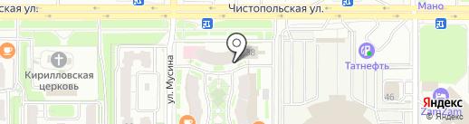 Интернет в дом на карте Казани