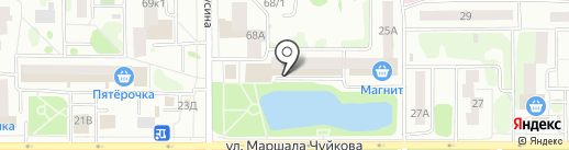 Пшеничка на карте Казани