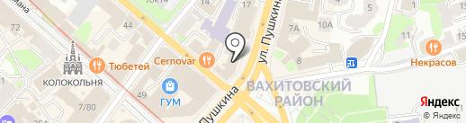 Добрая на карте Казани