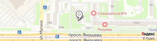 Дез-Рекорд на карте Казани