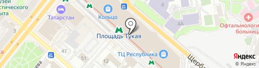Тир на карте Казани