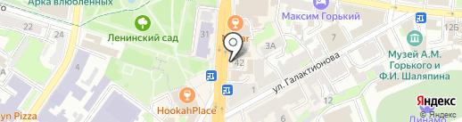 Мосигра на карте Казани